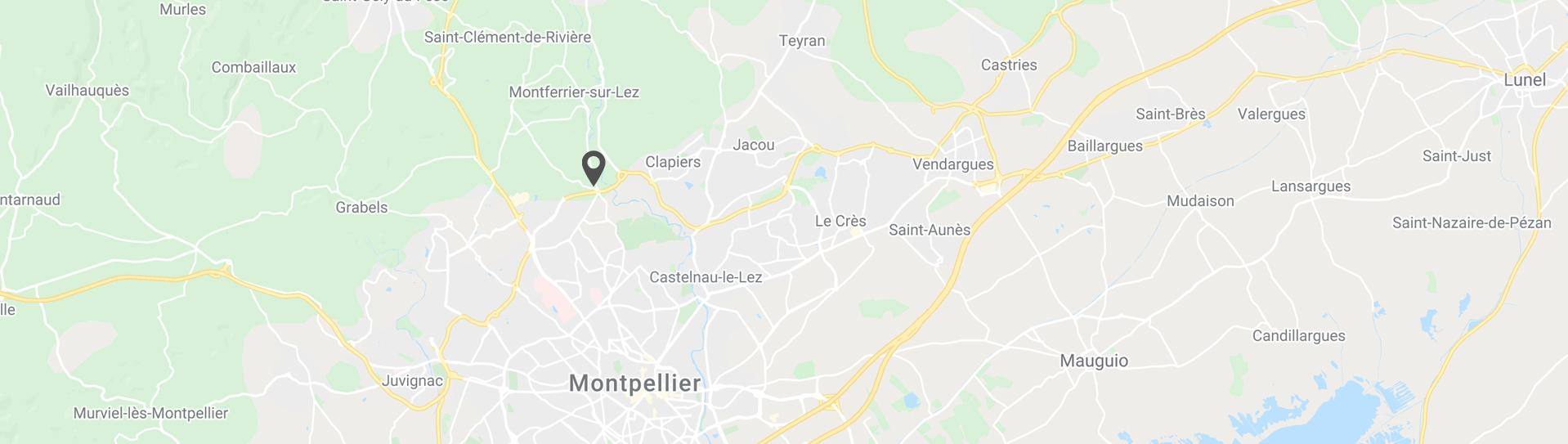 map de localisation de l'entreprise mind prod